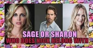 "★ *˛ ˚* ✰。˚ ˚ღ。* ˛˚ 。✰˚* ˚ ★ღ ˚ 。✰ •* ˚ "" ✰ ----- Today's "" Soapy Topic "" On #YR  Who should Nick Newman be with  Sage or Sharon ? ----- ** I am really liking Sage with Nick ** Sharon's his soulmate of course , but the new pairings are adorable ! ---- What's your thoughts ? Chime in !"